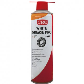 CRC | White Grease Pro with PTFE | Spray 500ml | 32722-AA