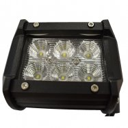 HYPER | LED | Single Spot Light | 18W | 12v | 95mm x 65mm x 65mm