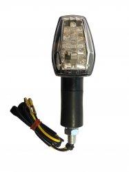LED Indicator   Clear Lens/Black Stem