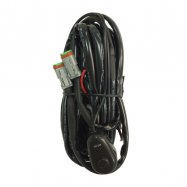 LED Light Bar Wiring Loom 24v With Double Connector For Two Light Bars