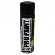 Pro-Clean | Pro Paint | Gloss Black | Aerosol | 500 ml
