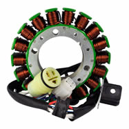High Output Stator 300 W Yamaha Raptor 350 Warrior 350 Wolverine 350 Big Bear 400 2000-2013 - RM01017