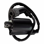 External Ignition Coil With Cap Yamaha 1988-2014 ( Grizzly 700 Raptor 700 XT 600 XV 250 V Star XV 360 Virago )