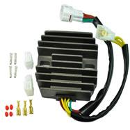 Voltage Regulator Rectifier Suzuki Bandit Boulevard GSXR 600 GSX-R 750 Hayabusa VL 800 VZ 800 LTA 700 X King Quad - RM30502