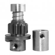 Starter Motor Drive: 10/11-Tooth; CCW;: For Various Starters