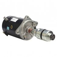 Starter Motor for Ford Auto, Agricultural, and Industrial Applications: DD; 12-Volt; CW SFD0192