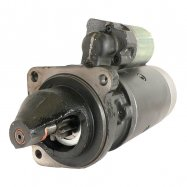 Starter Motor for Long Tractors: DD; 12-Volt; CW; 9-Tooth SBO0105