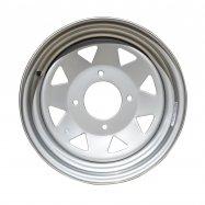 Steel Rim | Silver | 12x7 | 4/137 PCD | 4+3
