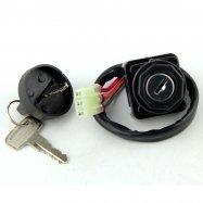 Three Position Ignition Key Switch For Suzuki LTZ250 Quadsport LTF250 Quadrunner