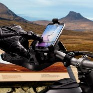 Universal | Smartphone Motorcycle/Bike Holder | Handlebar Mount | Water Resistant Cover