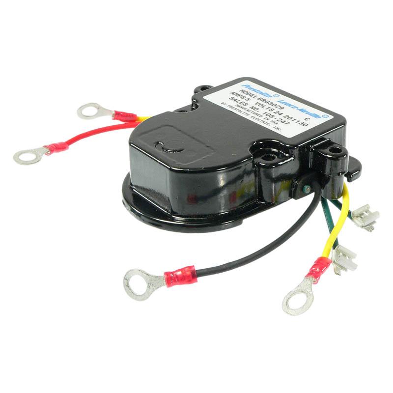 Voltage Regulator 24 : Voltage regulator volt b circuit for motorola alternators