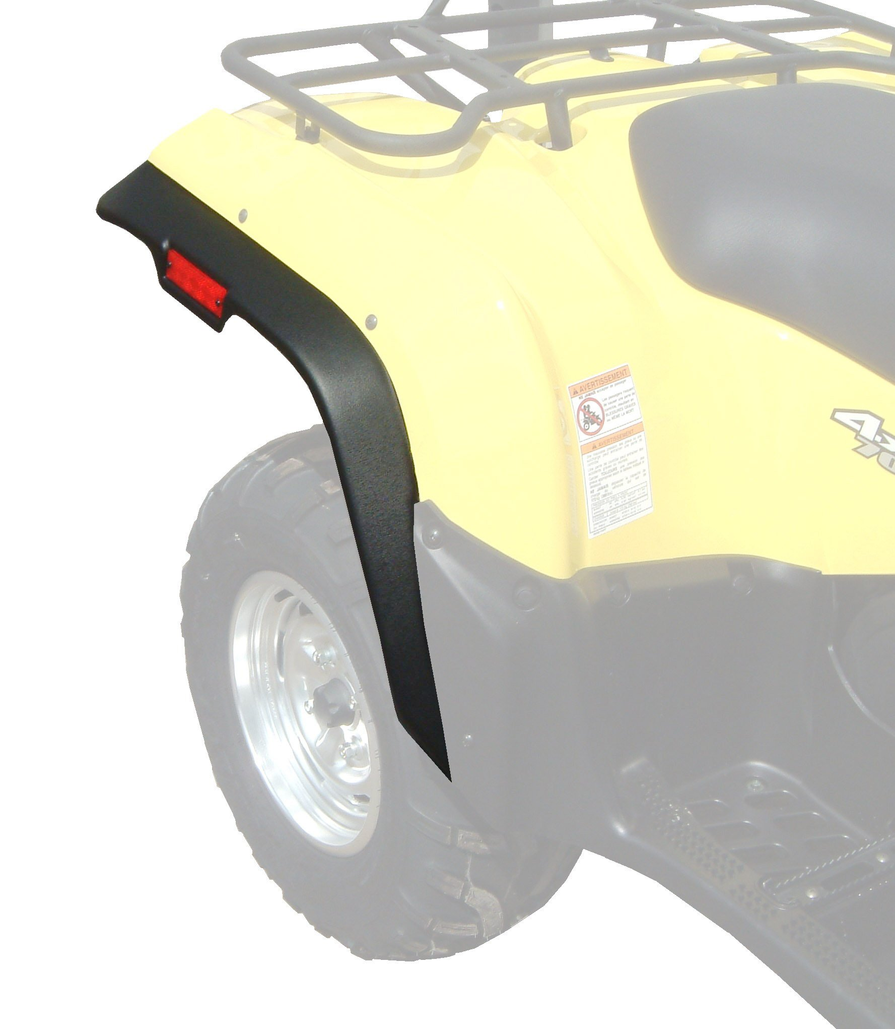 ATV Fender Flares - Suzuki King Quad 450 / 500 / 700 / 750