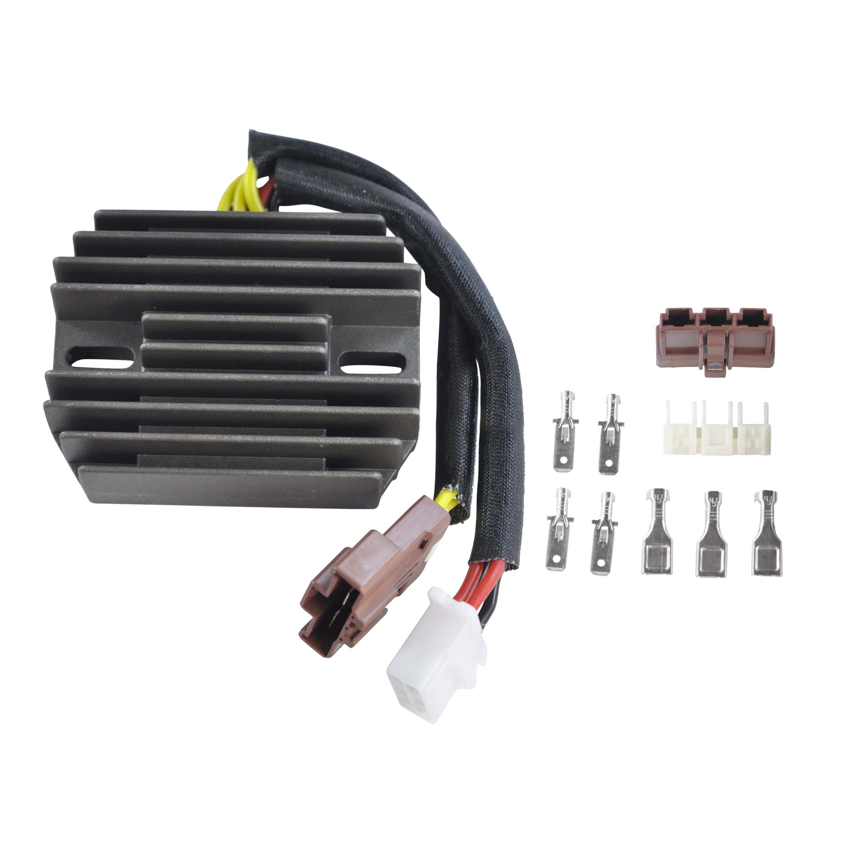 Aprillia Rsv 1000 R Regulator Rectifier Moto Electrical Baja 90cc Wiring Diagram Replaces Ap8124267