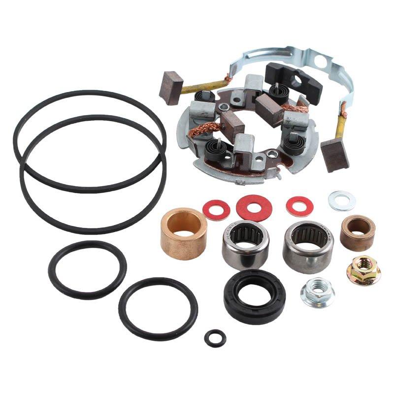 Electric Motor Brush Repair Kit: Starter Brush Kit SMU9125 Arctic Cat Honda Kawasaki
