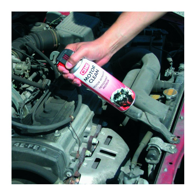how to clean car motor