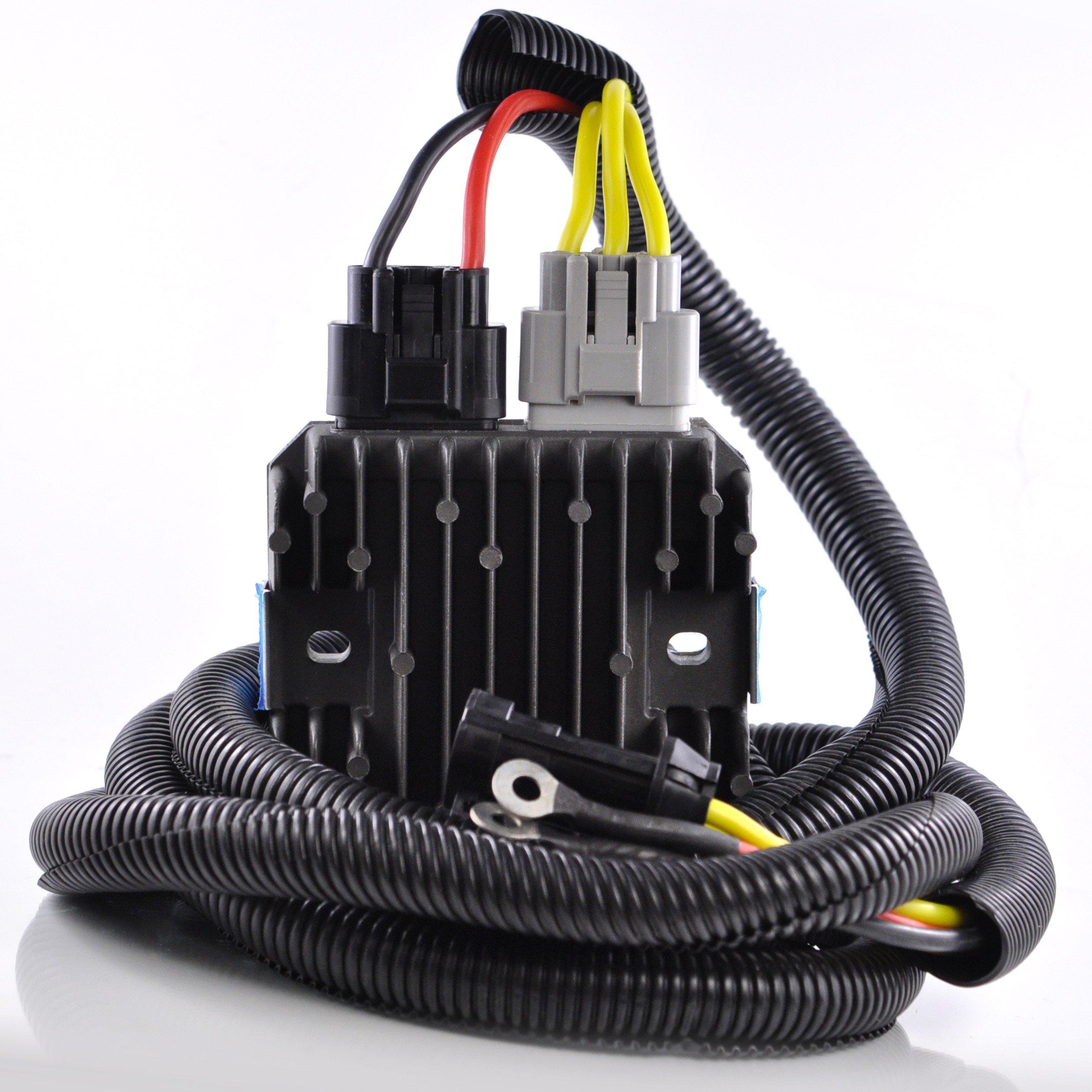 Heavy Duty Mosfet Polaris Voltage Regulator Upgrade Rzr 900 170 Wiring Diagram 1000 Ace Sportsman Scrambler