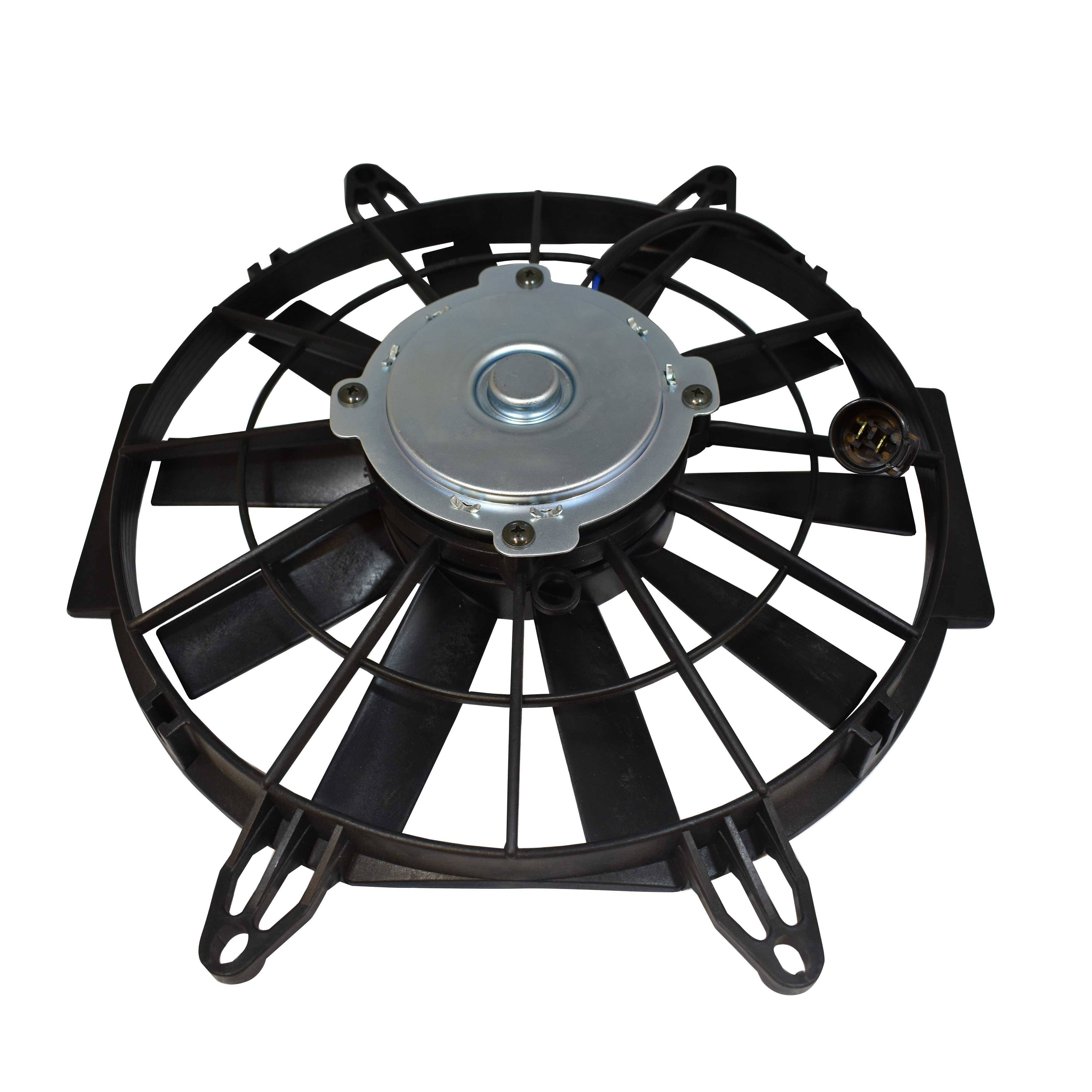 Fan Motor Product : Kawasaki utvs cooling fan motor assembly ready to mount in