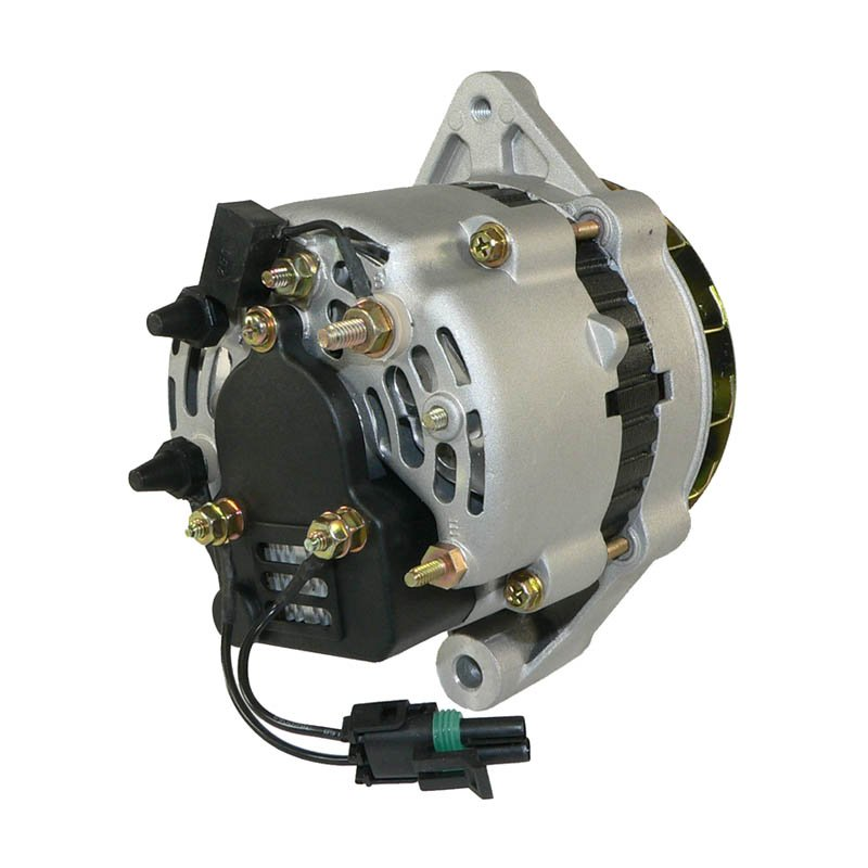 Bobcat Voltage Regulator : Alternator amn lucas marine bobcat mando a b
