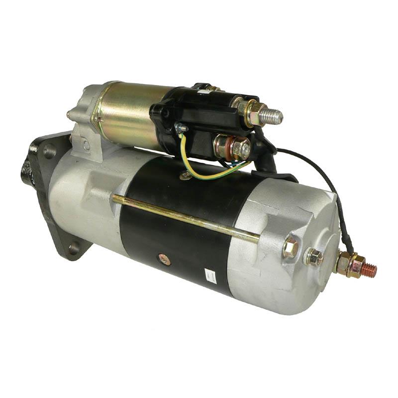 Starter motor for heavy duty trucks plgr 24 volt cw 12 for Heavy duty dc motor