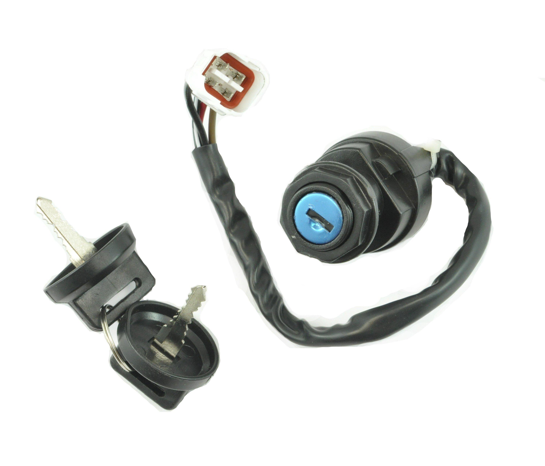 Ignition Key Switch YAMAHA KODIAK 400 YFM400 2WD 2000 2001 ATV