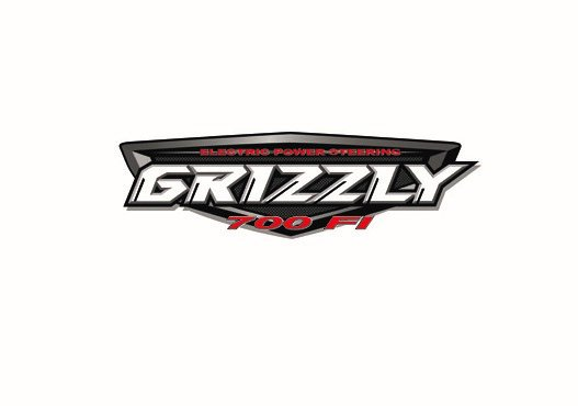 Yamaha 700 EPS Grizzly Right And Left Tank Sticker | ATV City