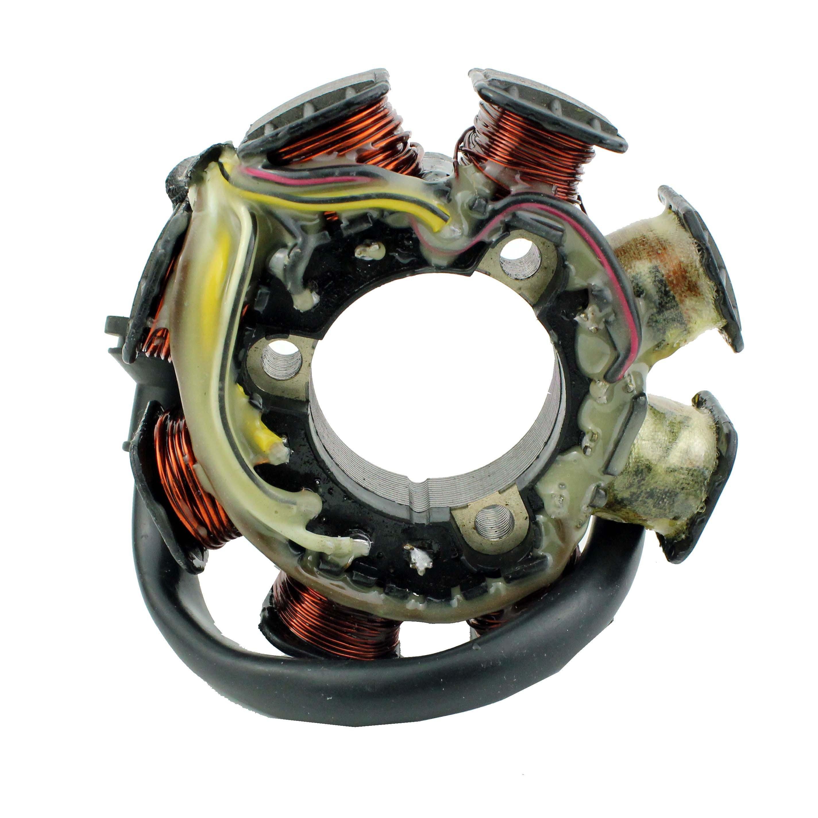 yamaha v max 600 st carb l c generator stator coil moto electrical yamaha v max 600 st carb l c stator coil replaces 8cc 85510 00 00